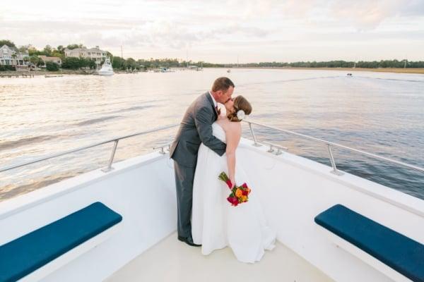 boat wedding yatch wedding