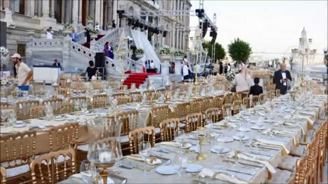 Ciragan Palace Kempinski Wedding
