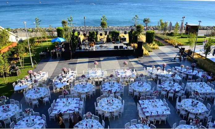 Crown Plaza Florya Wedding
